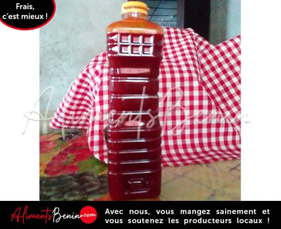 Huile rouge AlimentsBenin.Com