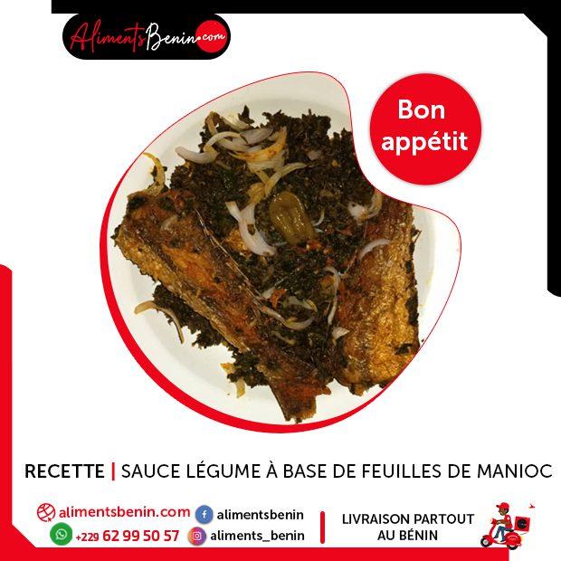 Recette de sauce légume à base de feuilles de manioc