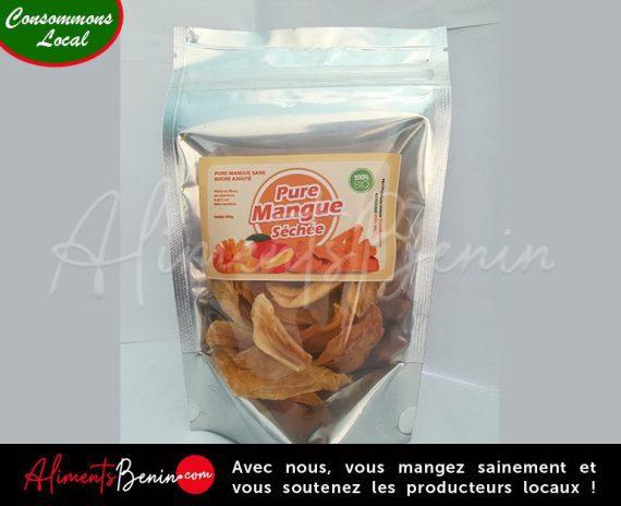 Aliments Benin PRODUITS_PURE_Mangue_Sechee