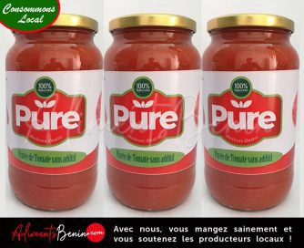 Aliments Benin PRODUITS_PURE_TOMATE