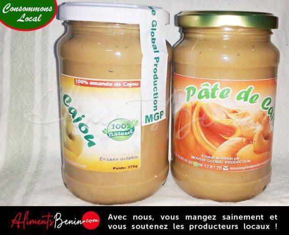 Aliments Bénin PRODUITS_Pate_Cajou