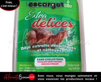 Aliments Benin_PRODUITS_ExtraDélice_Escargots Bio