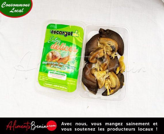 Aliments Benin PRODUITS_Délice escargots
