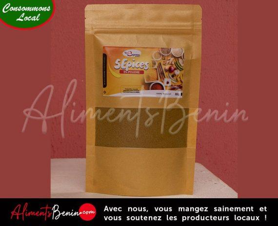 Aliments Bénin PRODUITS_Express_Services_5 épices