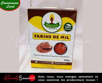 Aliments Bénin PRODUITS_Temiola Fllor_Farine de mil