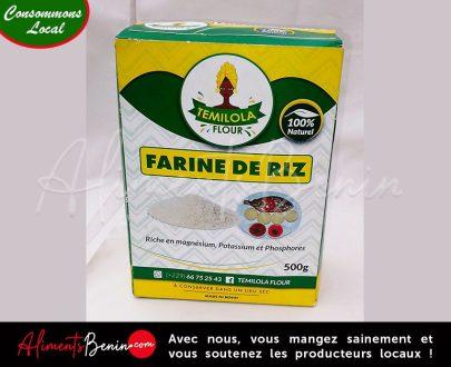 Aliments Bénin PRODUITS_Temiola Fllor_Farine de riz