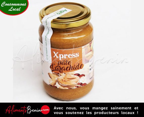 Aliments Bénin PRODUITS_AgroExpress_Pate_arachide