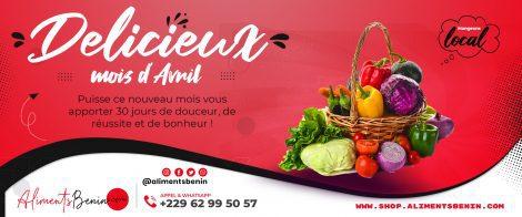 Aliments Benin Slide Avril
