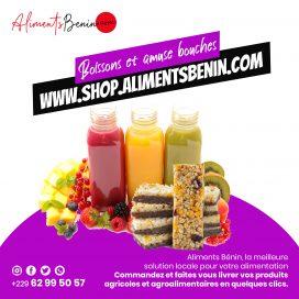 Boissons et Encas Aliments Benin