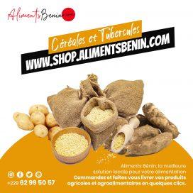 Céréales et Tubercules Aliments Benin