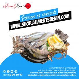 Poissons et crustacés Aliments Benin