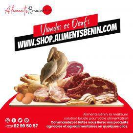 Viande et Oeuf Aliments Benin
