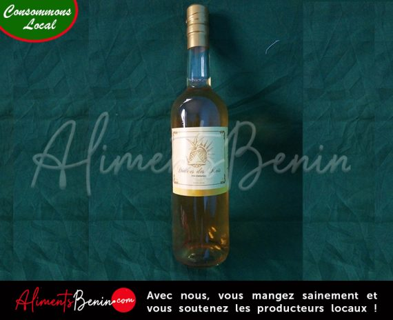 Aliments Bénin PRODUITS_Delices_des_rois_Vin_d'ananas_Moelleux